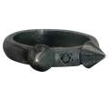 Horned Stake Ring with Black Diamonds